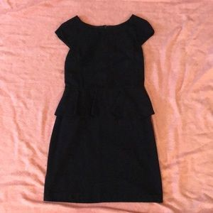 Express Black peplum dress